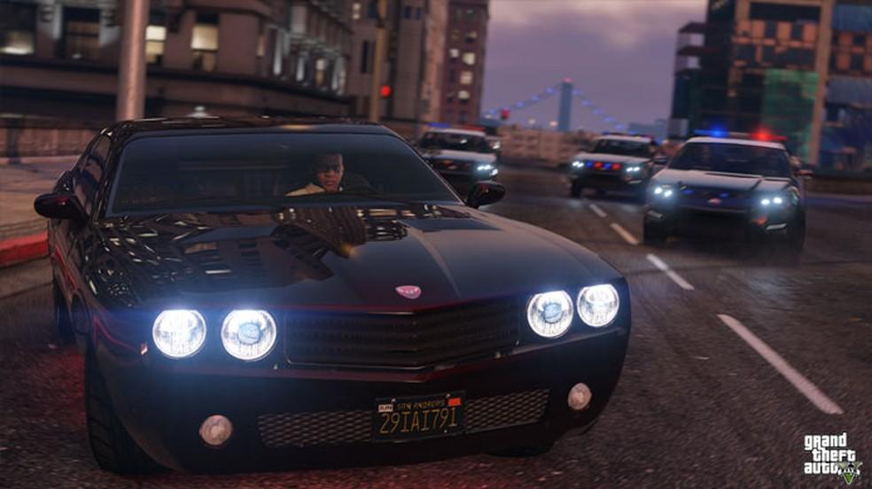 A Rockstar não costuma anunciar suas novidades na E3, mas talvez a nova versão de GTA 5 para PS5 e Xbox Series X/S possa aparecer no evento — Foto: Reprodução/Rockstar