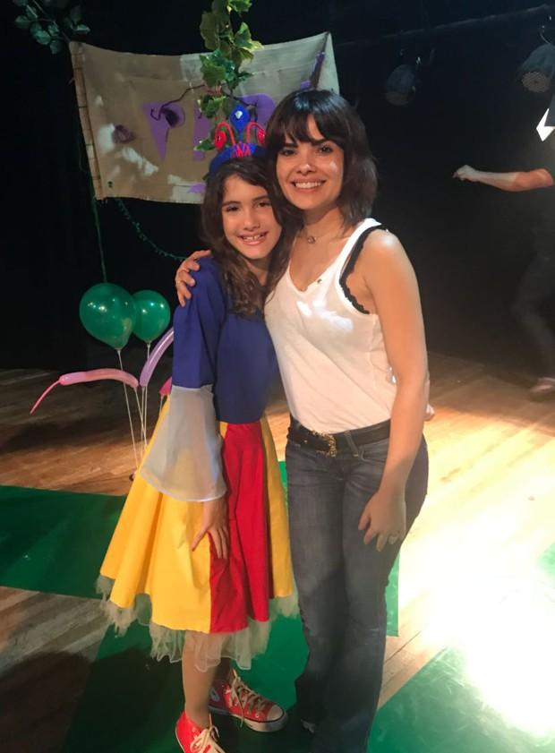 Vanessa Giácomo e a atriz Gabi Amaral (Foto: Patrícia Limeira/Divulgação)