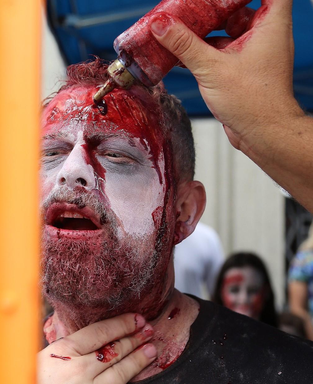 Participantes não economizaram no 'sangue' (Foto: Giuliano Gomes/PR Press)