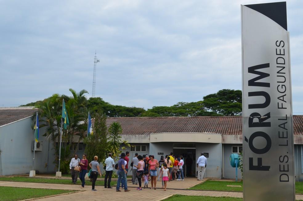 Triagem começa na segunda-feira (27) — Foto: Aline Lopes/G1