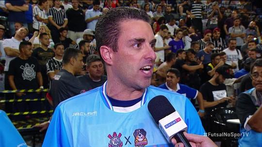 "Árbitro Felipe Ventura fala sobre assumir final: ""Pediram para vir correndo"""