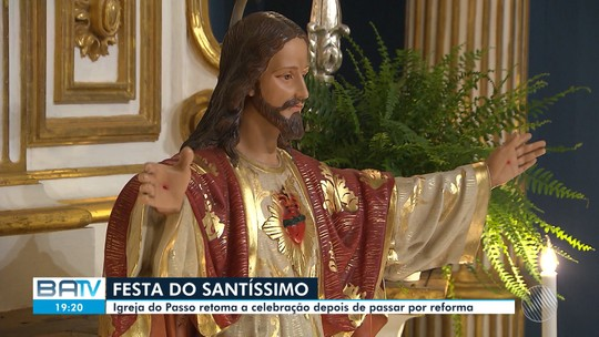 Novena ao Santíssimo Sacramento termina nesta sexta-feira, na Igreja do Passo, em Salvador