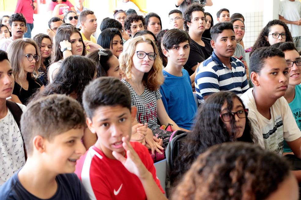 Edita oferece bolsa de estudos para fomentar pesquisa científica entre estudante de ensino médio da rede púbica do Rio Grande do Norte (Foto: Ivanízio Ramos/Assecom Governo do RN/Divulgação)