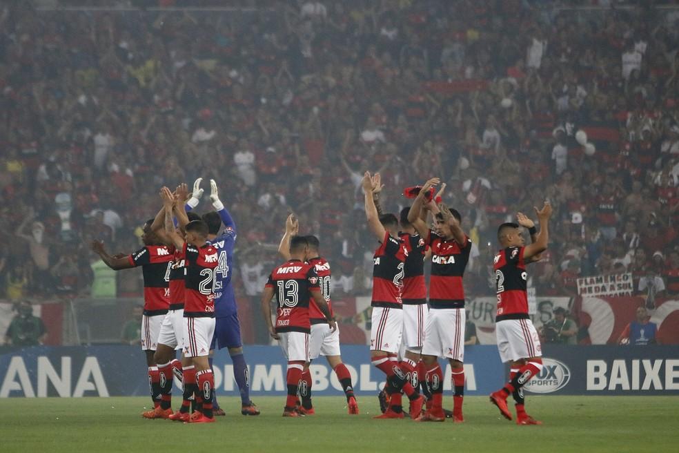 Flamengo não conseguiu vencer o Independiente  (Foto: Reginaldo Pimenta/Raw Imagem/Estadão Conteúdo)