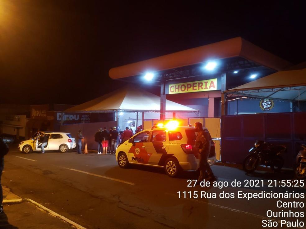 Fiscalizações foram intensificadas neste fim de semana em Ourinhos — Foto: Prefeitura de Ourinhos / Divulgação