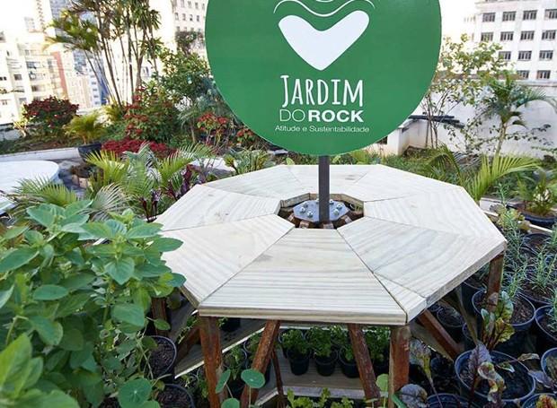 Jardim do Rock (Foto: Reprodução/Facebook)