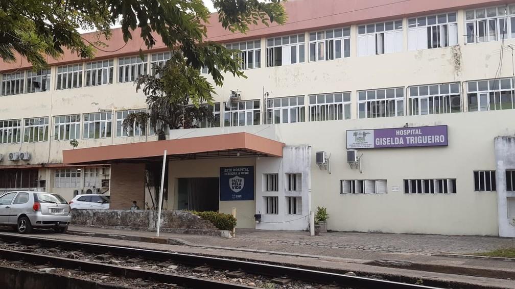 Hospital Giselda Trigueiro, em Natal, é hospital de referência no combate à Covid-19 — Foto: Sérgio Henrique Santos/Inter TV Cabugi