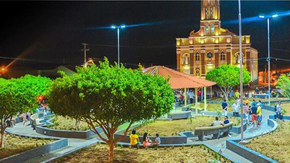 Prefeitura de São Mamede anunciou que vai usar dinheiro economizado com obras  (Foto: Reprodução/saomamede.pb.gov.br )