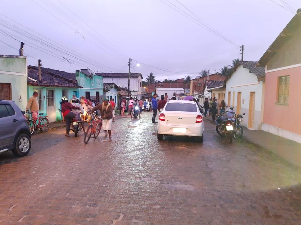 Caso aconteceu no centro de Ibirataia, no sul da Bahia â?? Foto: Divulgação/Giro em Ipiaú