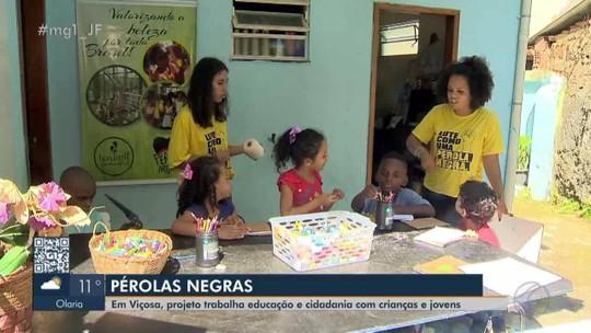 Projeto Pérolas Negras promove transformação social em Viçosa