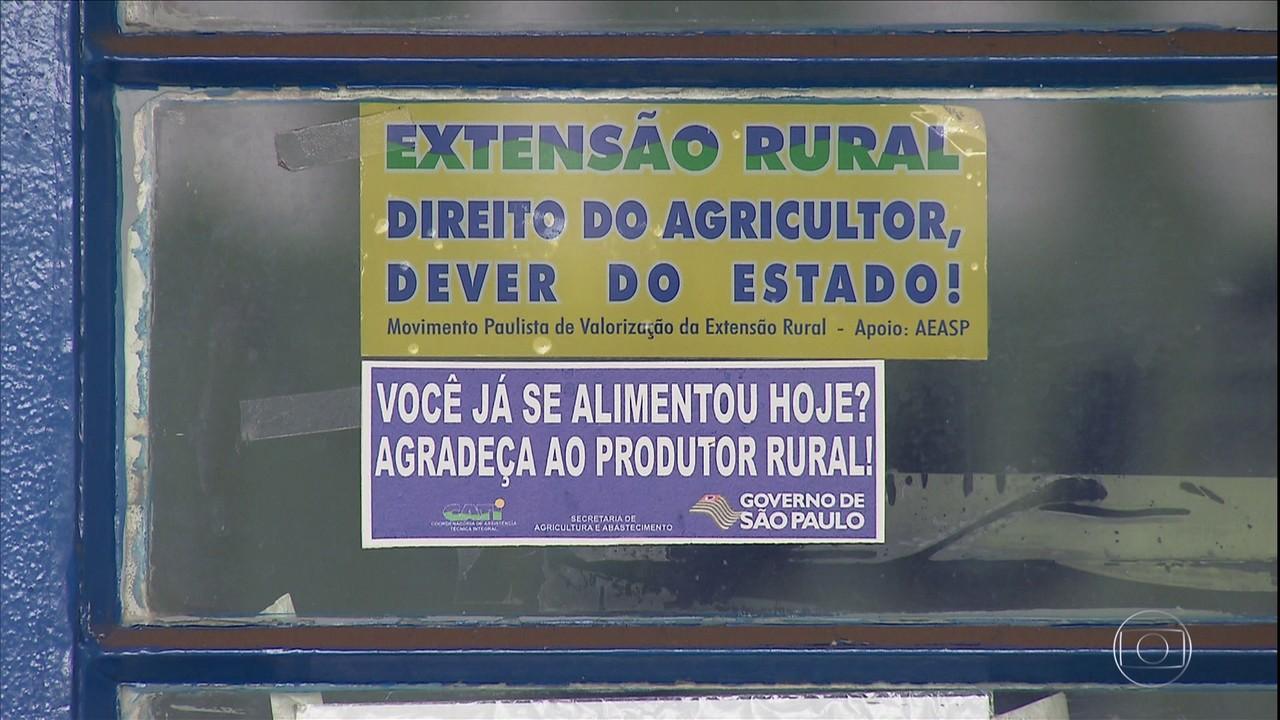 Reforma da assistência rural em SP preocupa técnicos e agricultores do estado