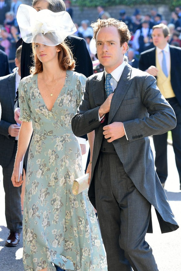 Tom Inskip e esposa (Foto: Getty Images)