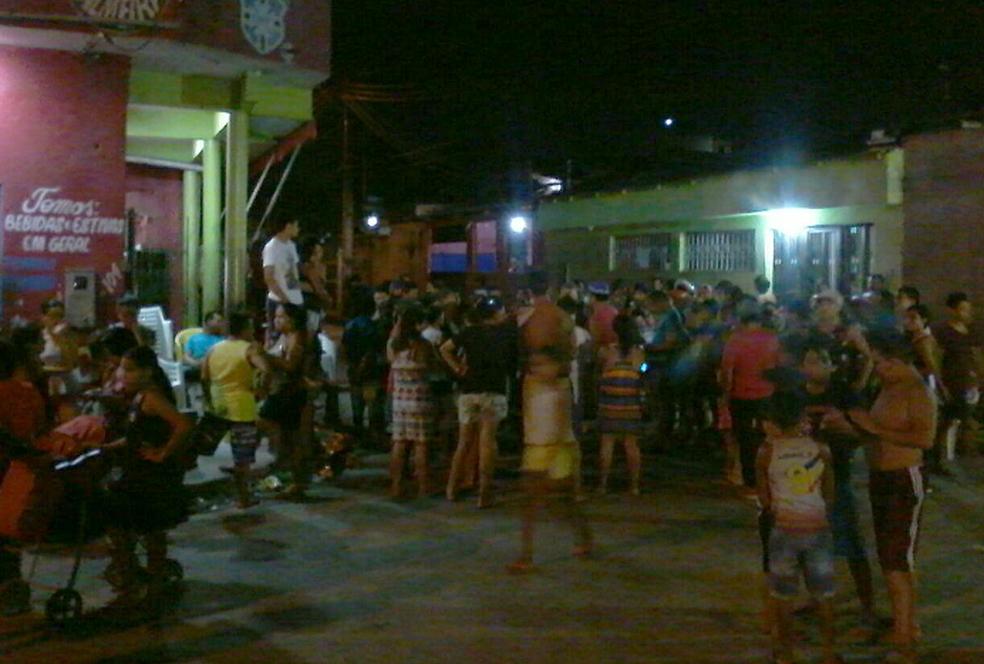 Crime ocorreu na noite desta quarta-feira (2) (Foto: Ive Rylo/G1 AM)