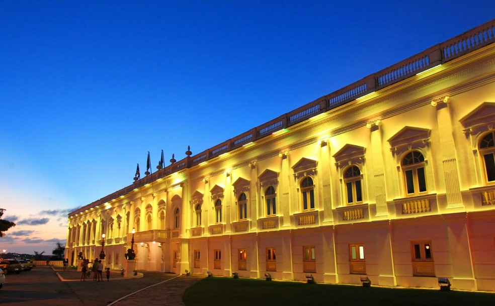 Fachada do Palácio dos Leões, sede do governo do Maranhão — Foto: Divulgação/Secap