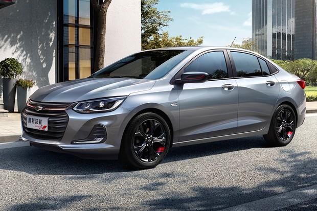 Nova geração do Chevrolet Prisma é revelada na China (Foto: Divulgação)