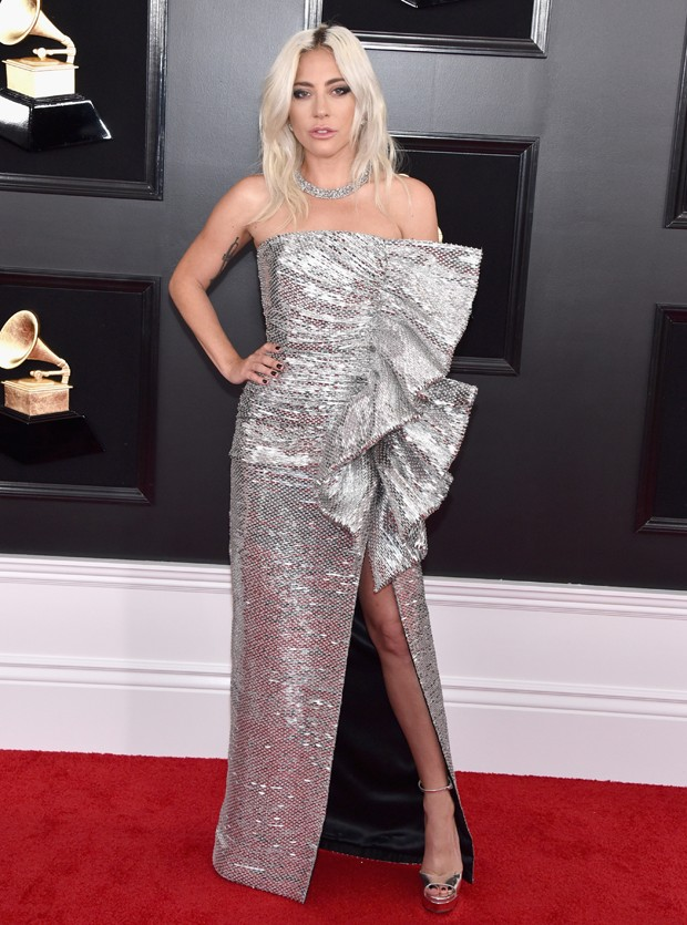 Lady Gaga no Grammy 2019 (Foto: Getty Images)