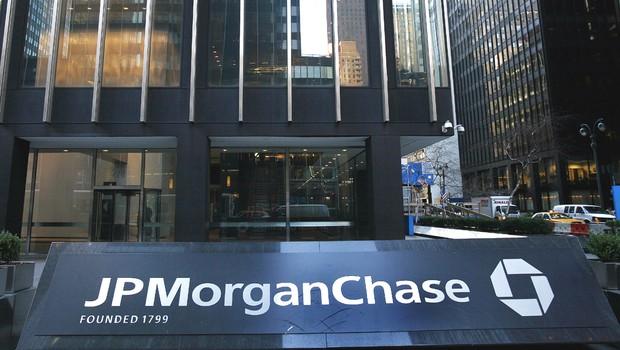 JP Morgan & Chase em Nova York (Foto: Reuters)