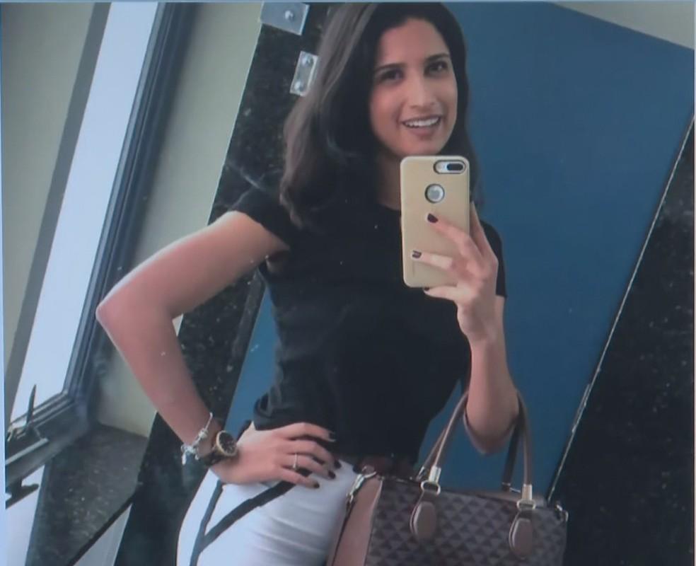 Advogada Letícia Sousa Curado Melo era funcionária do MEC — Foto: TV Globo/Reprodução