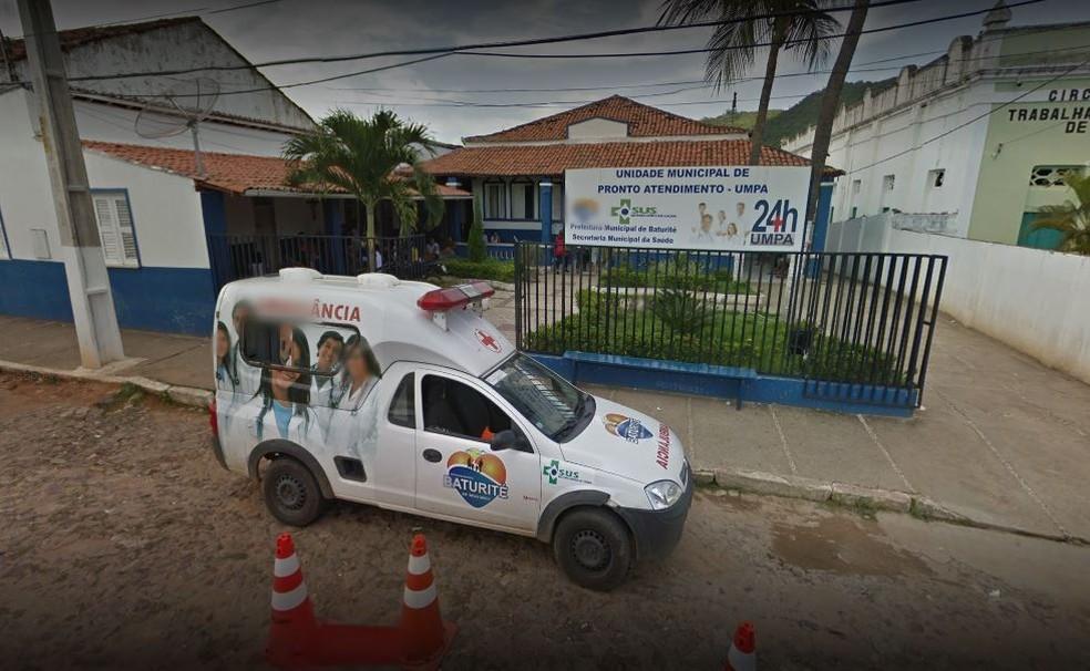 Médico teria praticado violência sexual contra um paciente em UPA de Baturité, no interior do Ceará. — Foto: Reprodução/GoogleMaps
