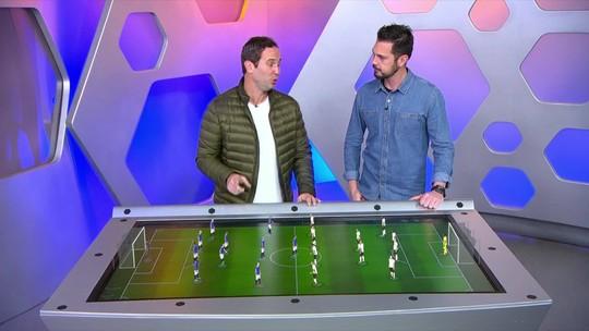 Mesa tática: Caio Ribeiro dá caminho para gol do Corinthians na final; Casagrande comenta