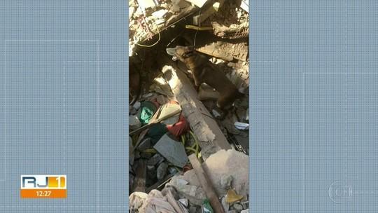 Bombeiros usarão máquinas em buscas por 3 desaparecidos na Muzema