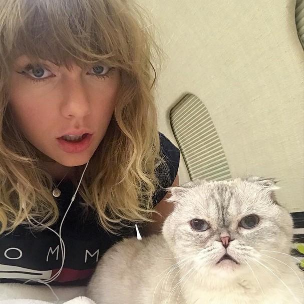 Taylor Swift no Instagram (Foto: Reprodução)
