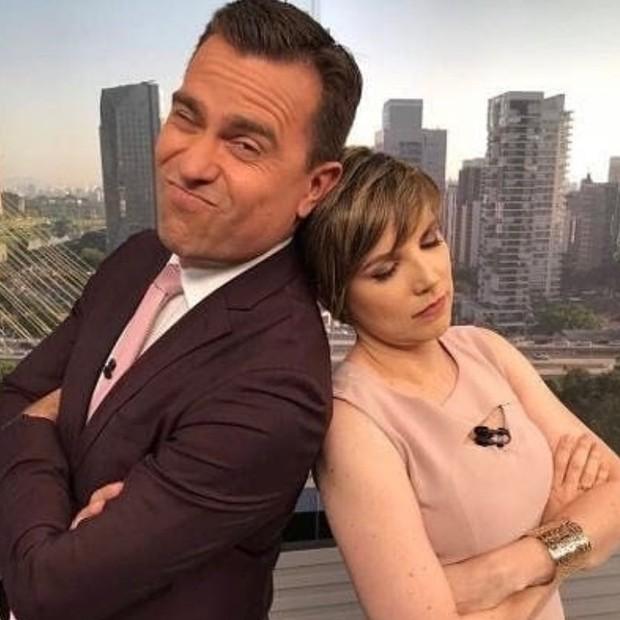 Rodrigo Bocardi e Gloria Vanique (Foto: Playback / Instagram)