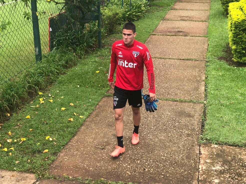 Denis Junior voltou ao São Paulo — Foto: Marcelo Hazan