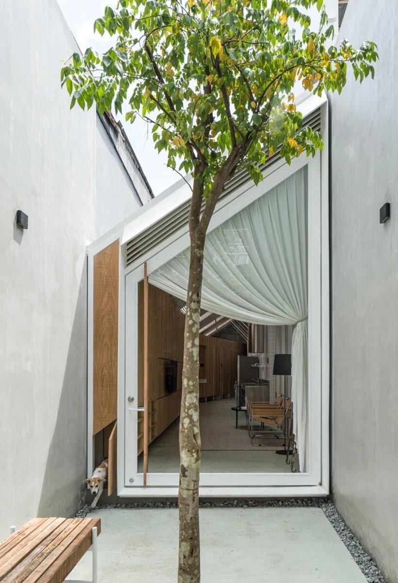 Edifício de 2,9 metros de largura é transformado em casa aconchegante no Vietnã