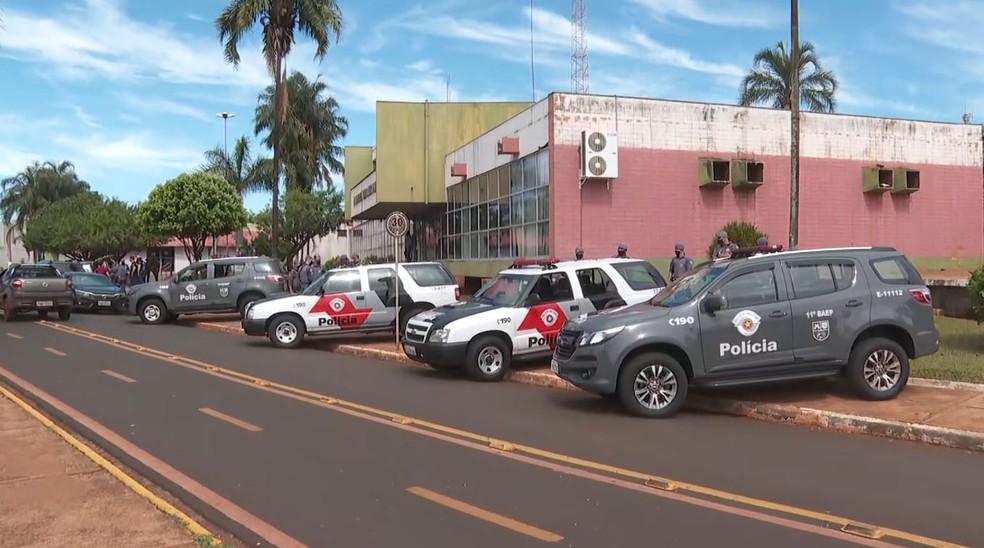 Operação Golpe Baixo prendeu 10 pessoas em Guaíra (SP), dentre elas o vice-prefeito — Foto: Reprodução/EPTV