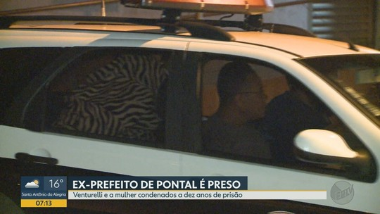 Condenado em 2ª instância, ex-prefeito de Pontal é preso por desvio de verba pública