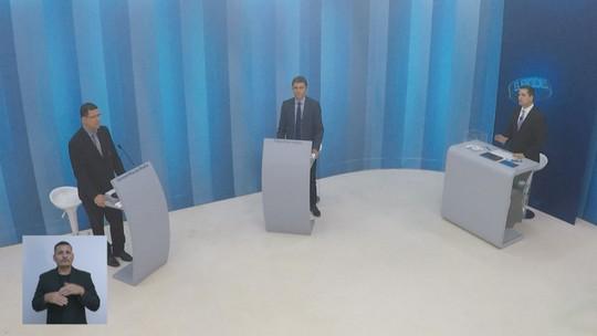 Candidatos ao governo de RO no 2° turno se confrontam em debate na Rede Amazônica