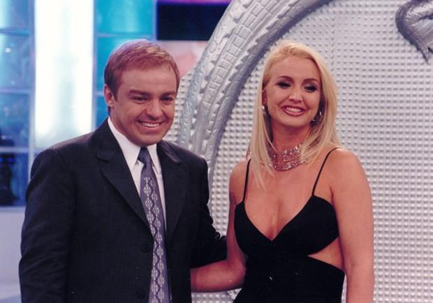 Gugu namorou Alessandra Scatena (Foto: Reprodução)