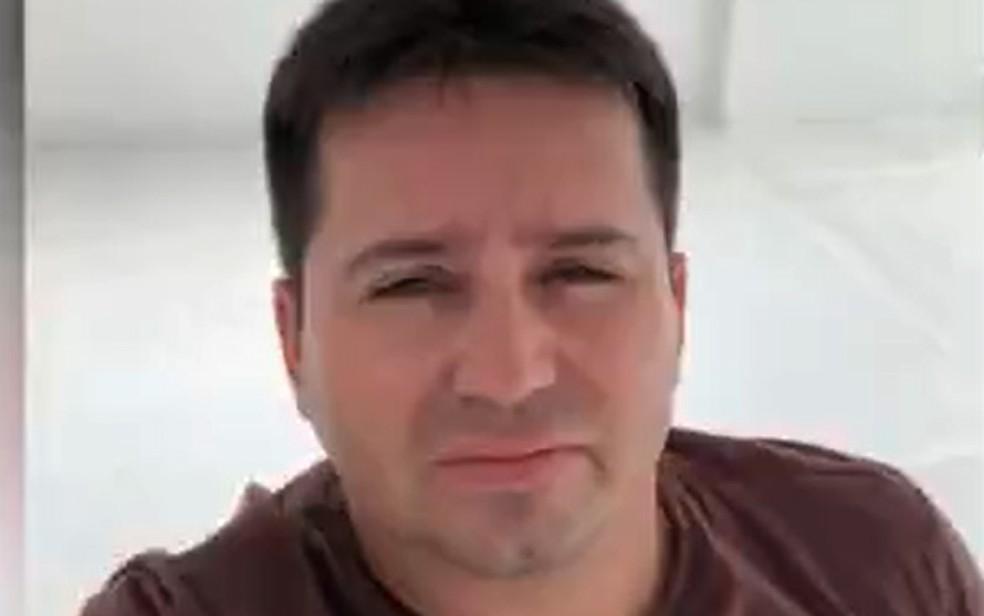 Policial militar, Márcio Magno Pereira Nascimento, foi morto a tiros em um bar no norte da Bahia — Foto: Reprodução/TV Bahia