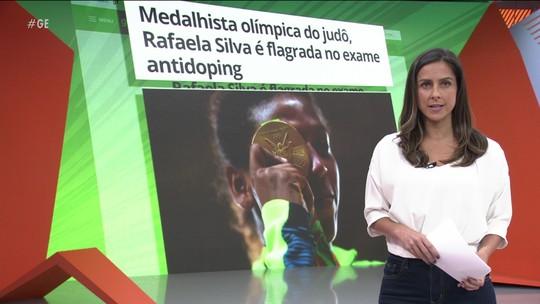 Rafaela Silva é flagrada no exame antidoping