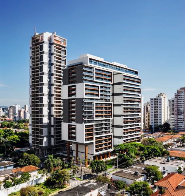 Residencial Habitarte, em São Paulo (Foto: Ana Mello / Divulgação)