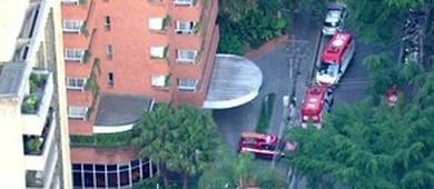 SP: vizinho irritado joga gás de pimenta contra obra e intoxica 4 (Reprodução/GloboNews)