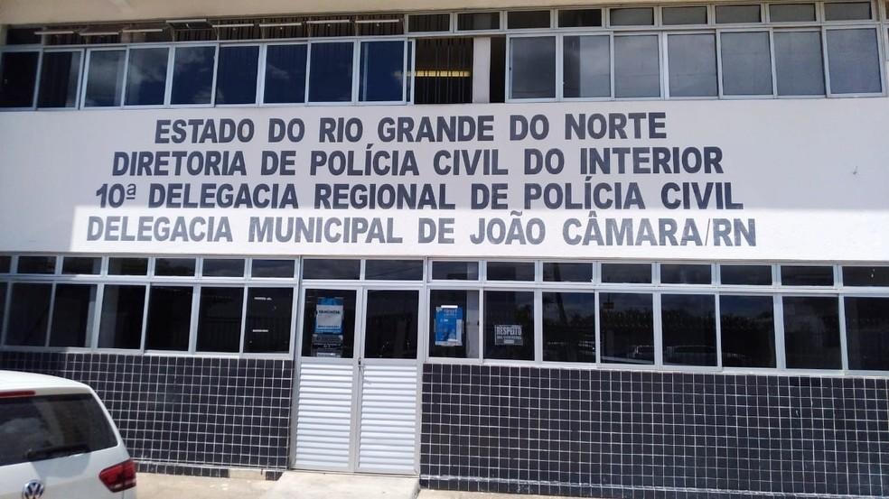 Caso foi registrado na delegacia regional de João Câmara no plantão da última sexta (21) — Foto: Sinpol-RN