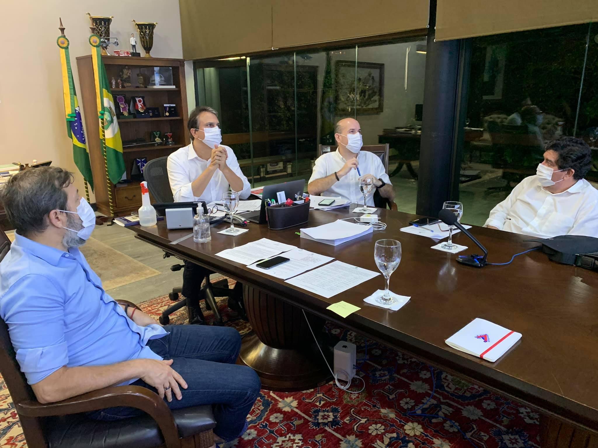 Camilo Santana anuncia decreto de isolamento social para o Ceará mais rigoroso nesta terça-feira