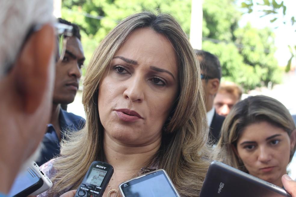 Rejane Dias. — Foto: Fernando Brito/G1