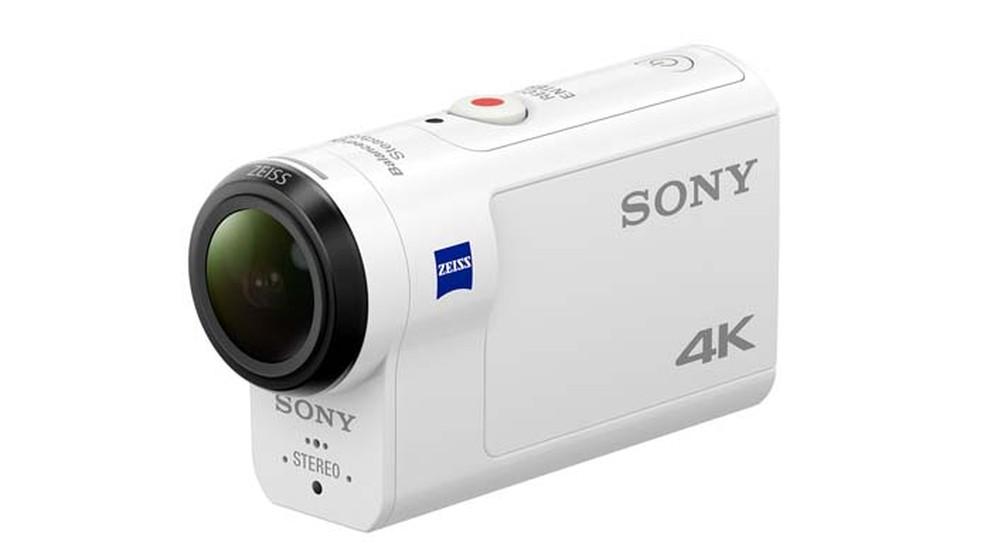 A Sony FDR-X3000R conta com sistema de estabilização compatível com todas as resoluções de filmes (Foto: Divulgação/ Sony)