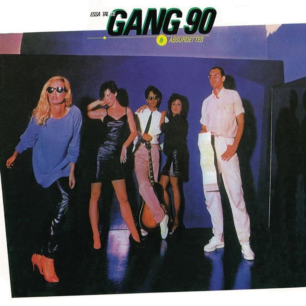 Capa do álbum 'Essa tal de Gang 90 & Absurdettes', mote do mais recente título da série 'O livro do disco' — Foto: Reprodução