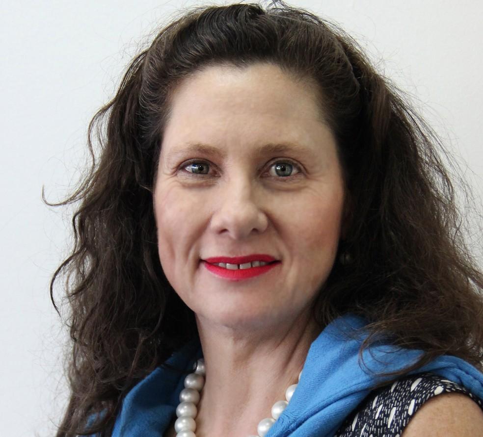 Elizabeth Jucá assume a Secretaria de Estado de Impacto Social do governo Zema — Foto: Imprensa/Partido Novo/Divulgação