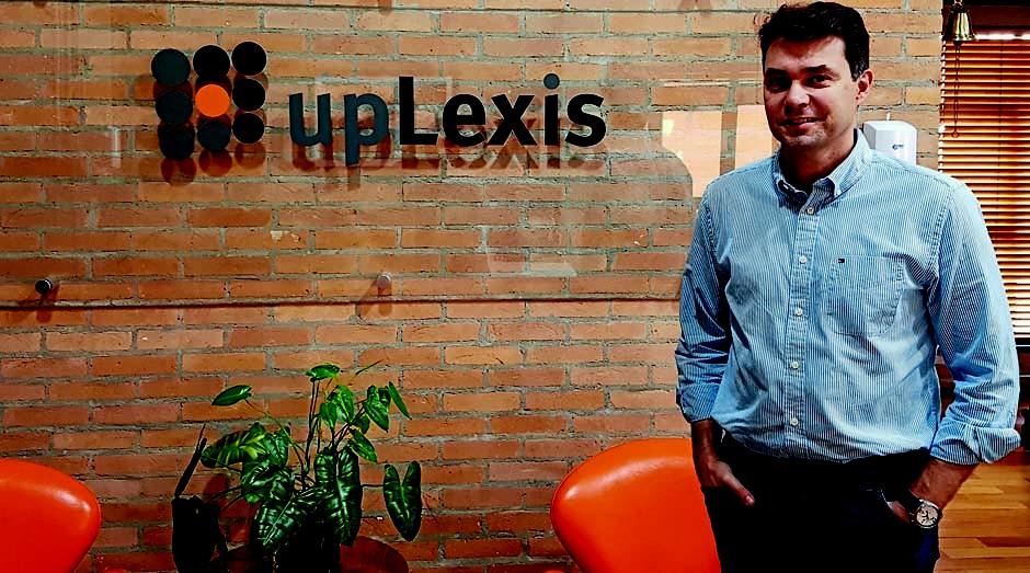 Eduardo Tardelli, da upLexis: R$ 10 milhões com mapeamento de dados jurídicos (Foto: Divulgação)
