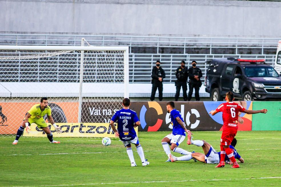 CRB x Cruzeiro, Copa do Brasil — Foto: Ailton Cruz/Gazeta de Alagoas