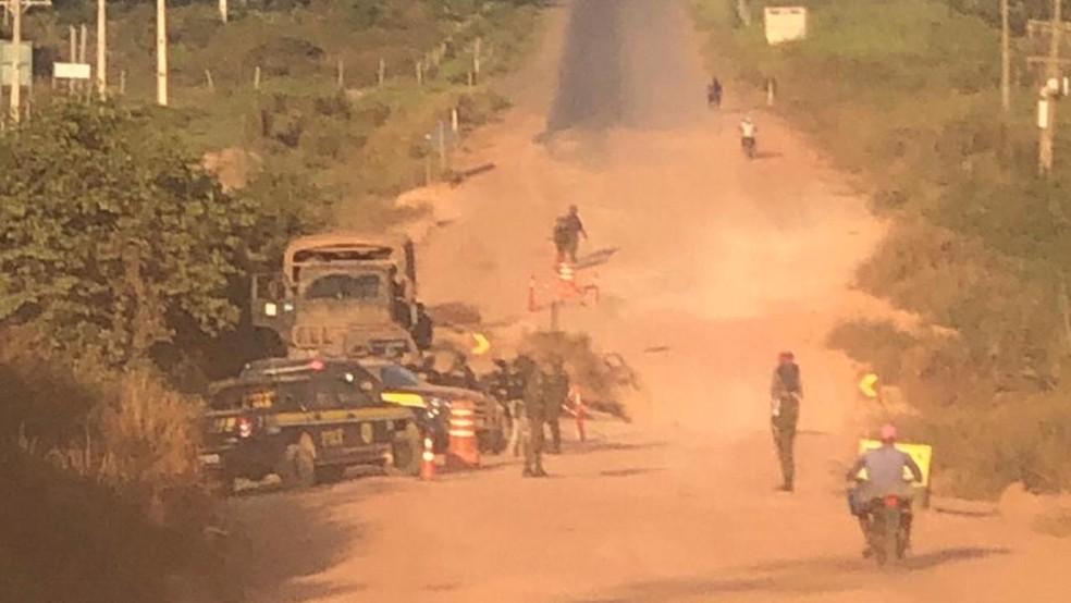 Operação Flamma em Placas, no Pará, resultou em prisões  — Foto: Reprodução