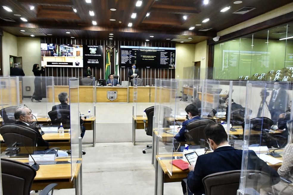 Sessão na Assembleia Legislativa do RN (Arquivo) — Foto: João Gilberto/ALRN