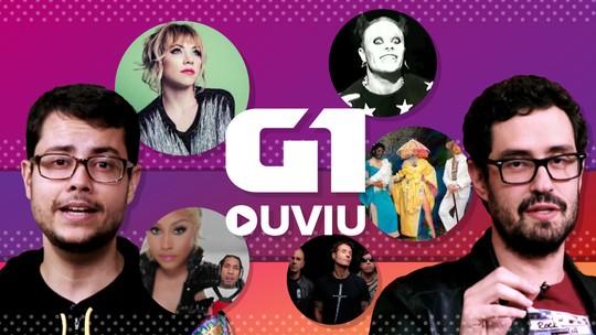 Sia, Carly Rae Jepsen, Nicki Minaj e revival dos anos 90 com Capital Inicial e Prodigy estão no G1 Ouviu