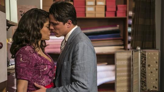 Severo flagra Diana e Braz aos beijos