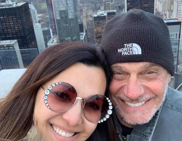 Veruska e Ricardo Boechat (Foto: Instagram/Reprodução)